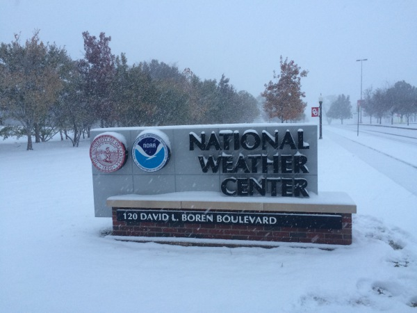 National Weather Center Snow