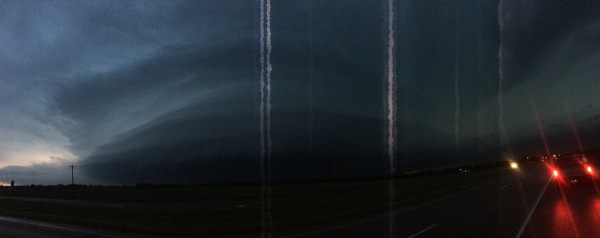 Mothership supercell panorama