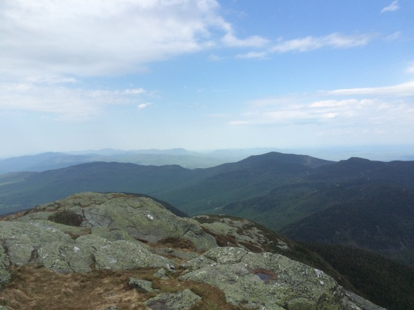 View from Mt. Mansfield summit