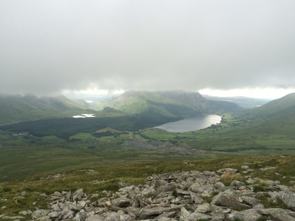 Low cloud on Snowdon
