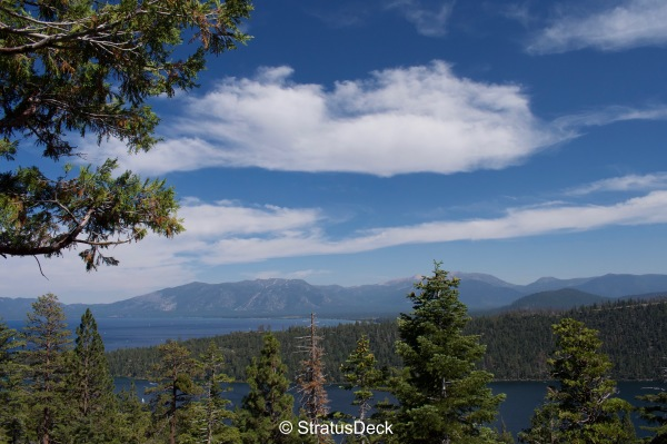Cloudscape over Lake Tahoe