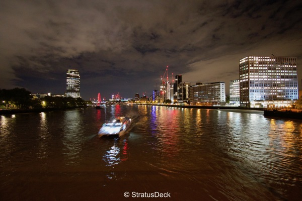 The Thames from Vauxhall Bridge