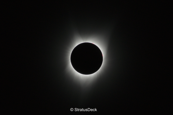 Totality - with 1/160s shutter speed