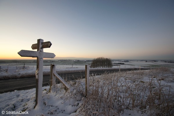 Winter Signpost